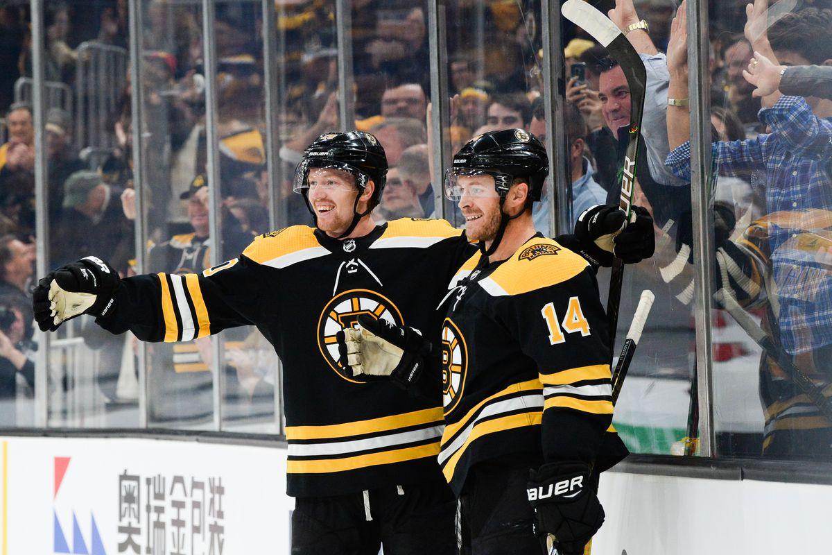 New Jersey Devils v Boston Bruins