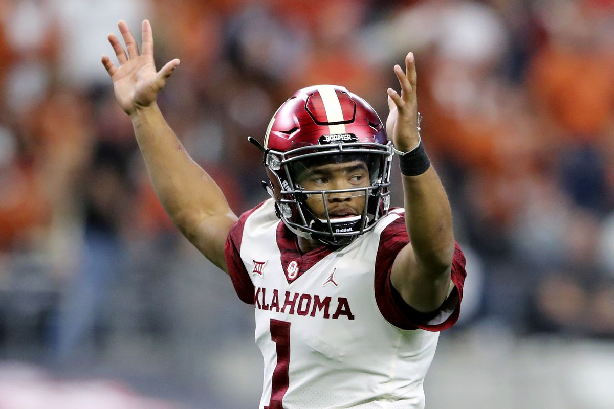 Oklahoma Football  Kyler Murray wins AP Player of the Year - Crimson ... 315157e92