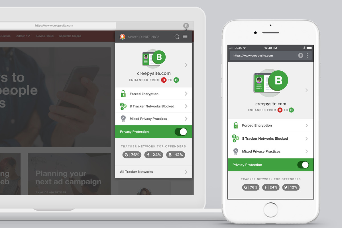 Anti-Tracking Search Engine DuckDuckGo Launches Revamped Mobile Apps