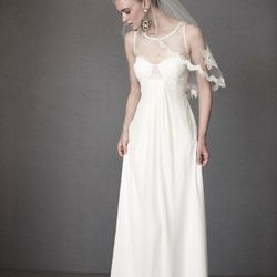 """<a href=""""http://www.bhldn.com/shop-the-bride-wedding-dresses/panes-of-lace-gown""""> Panes of Lace gown</a>, $600 at bhldn.com"""