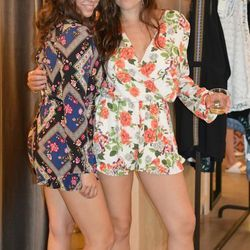 """For another cute floral look, try slip on <strong>Tigerlilly's</strong> <a href=""""http://edithhart.com/shop/all/EDT01053-honey-punch-floral-ruffle-romper#.U7McqagWcVd"""">Renaissance Floral onesie</a> (left), $198"""