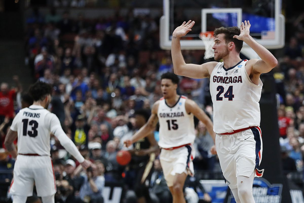 College Basketball Rankings Gonzaga Opens Season At No 8