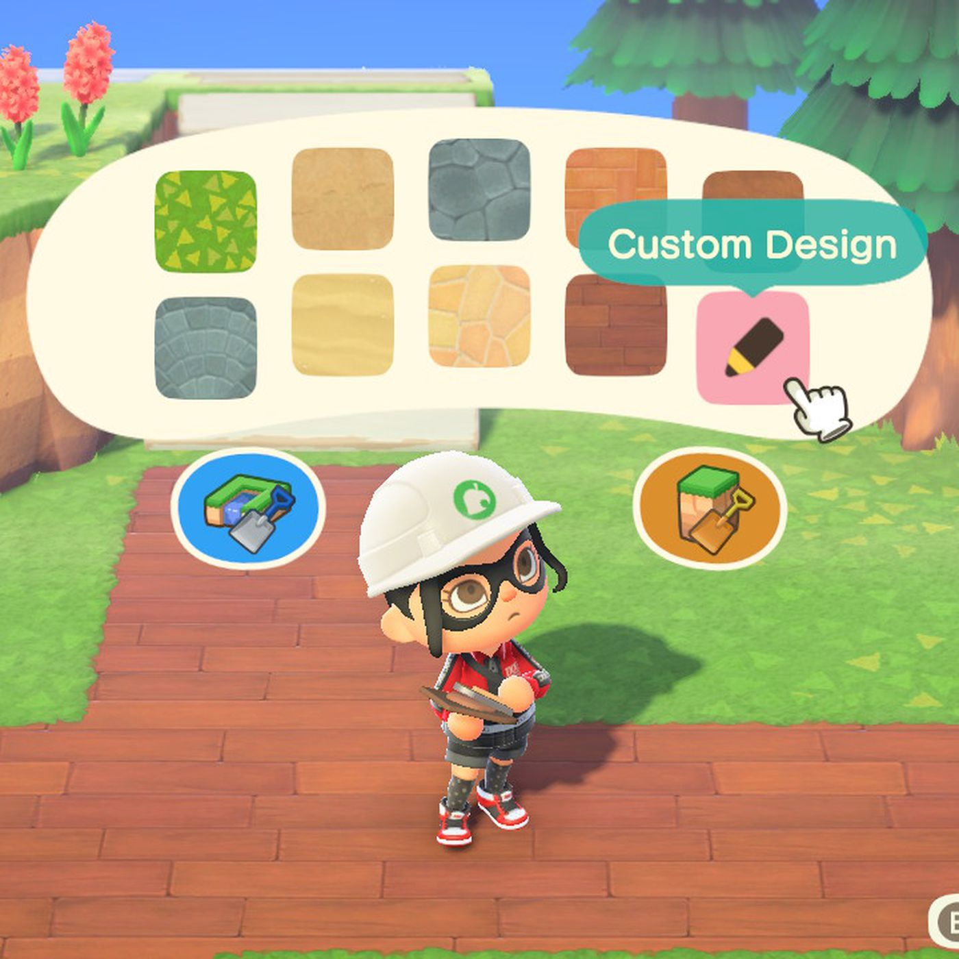 How To Make Custom Paths In Animal Crossing New Horizons Polygon