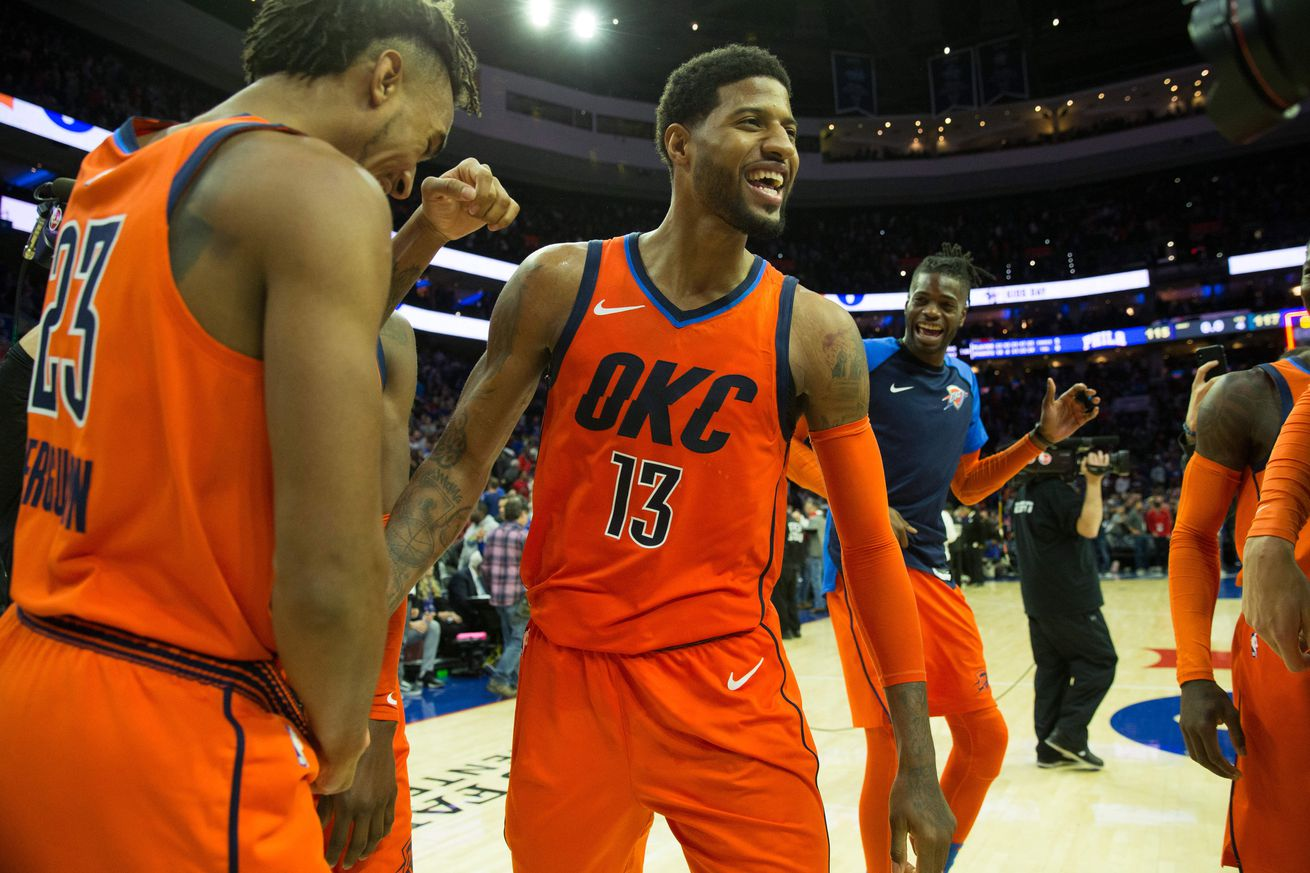 usa today 12025833.0 - The Thunder might just be Paul George's team now