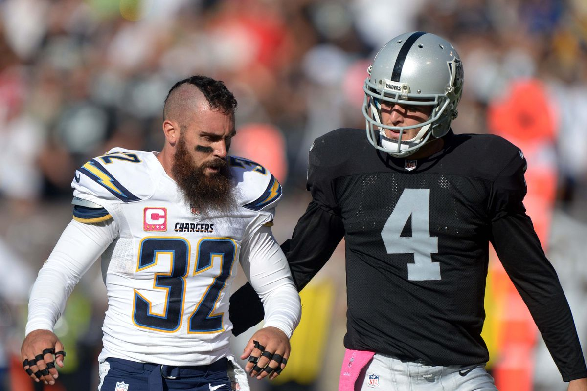 Free Agent safety Eric Weddle thinks Oakland would be a good