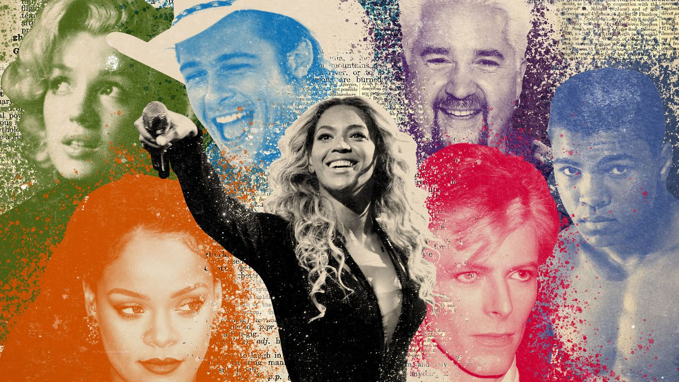 Are These the 50 Greatest Celebrities of All Time?