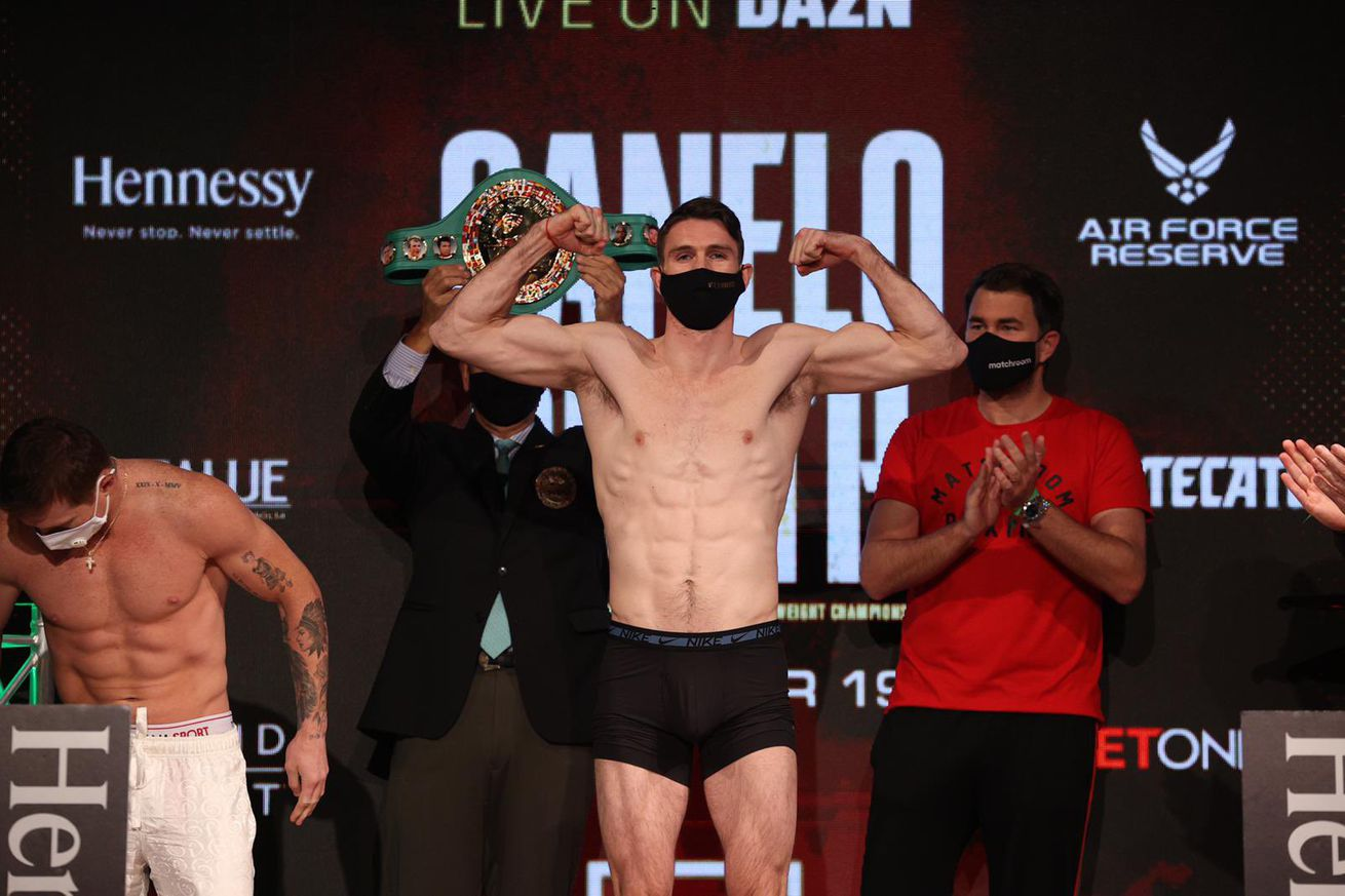 EpidRdIXcAkecKl.0 - Smith is unruffled, but Canelo is another level
