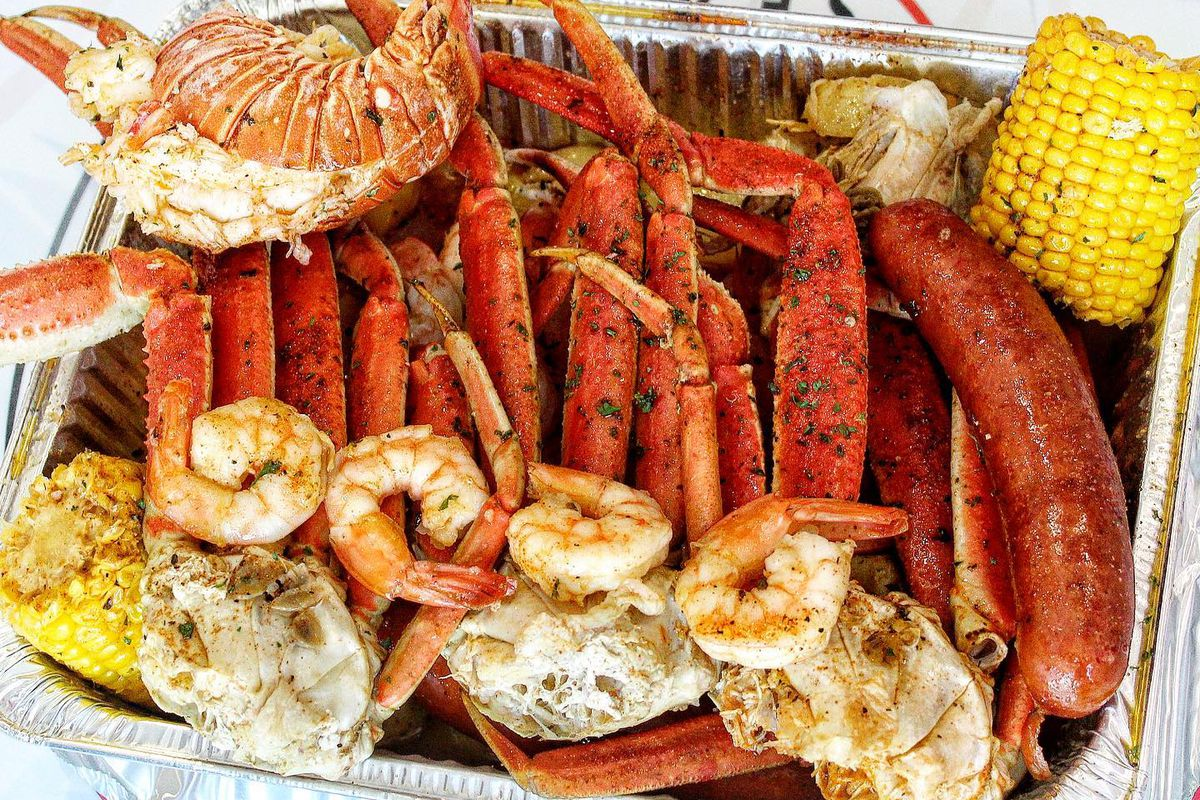 To-go seafood from Krab Kingz