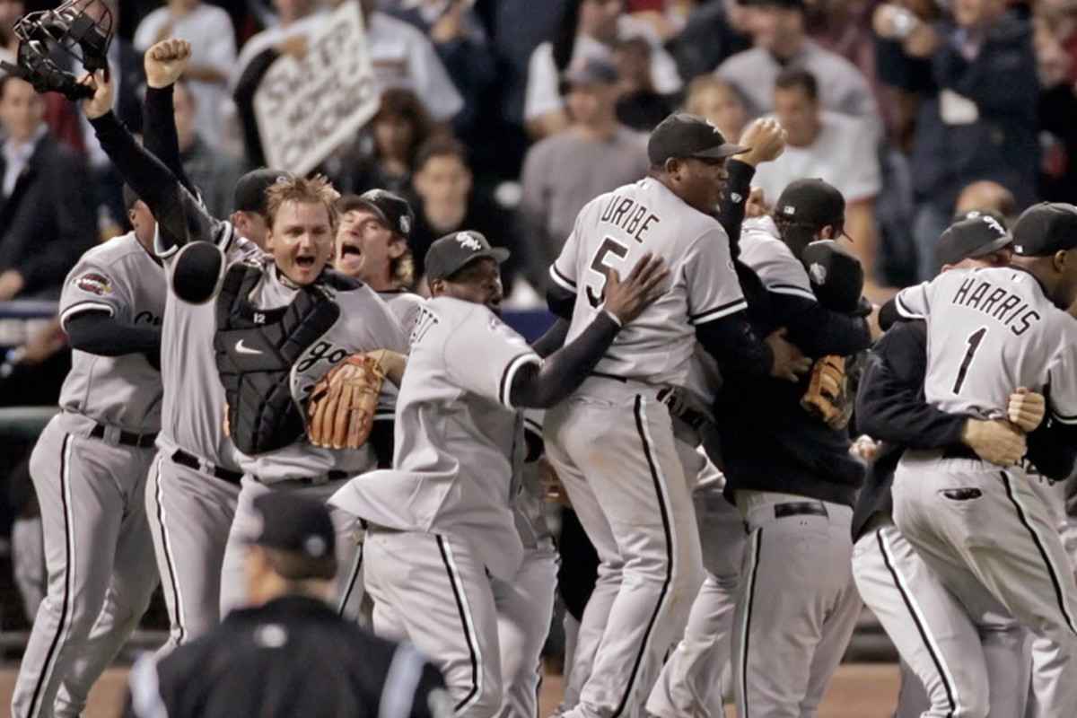 White Sox win the World Series in 2005