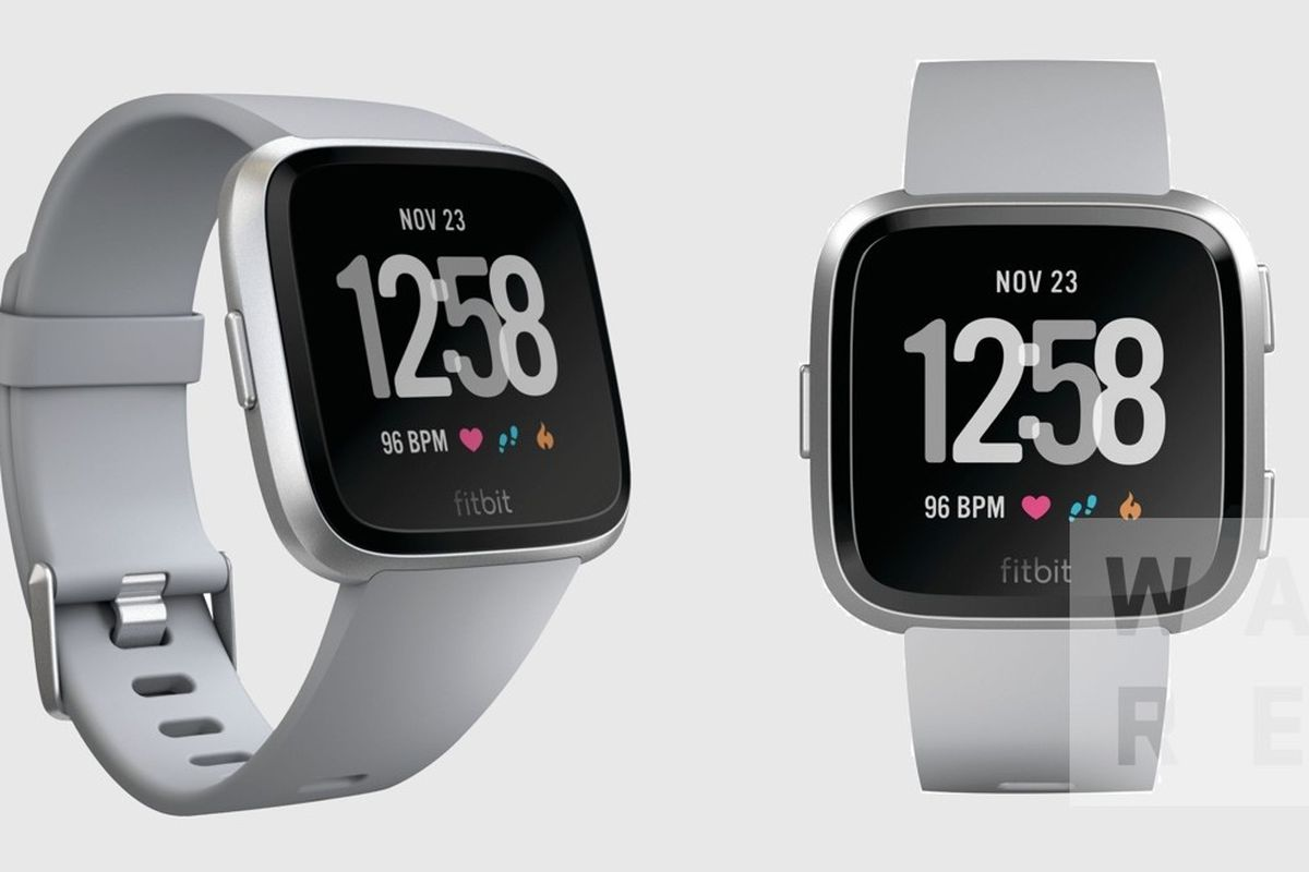 A new smaller and more attractive smartwatch leaks from Fitbit