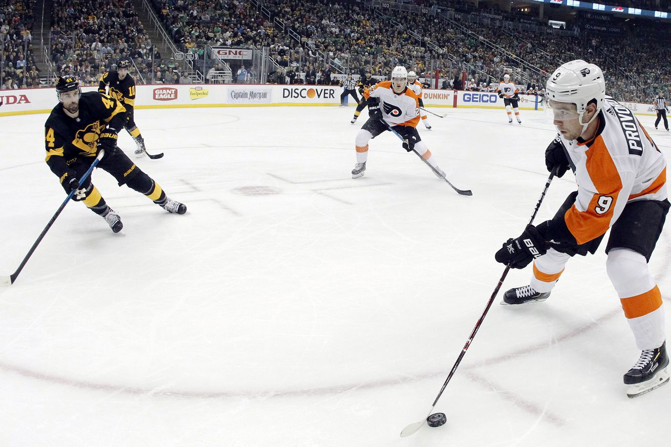 What's up with Ivan Provorov's contract negotiations?