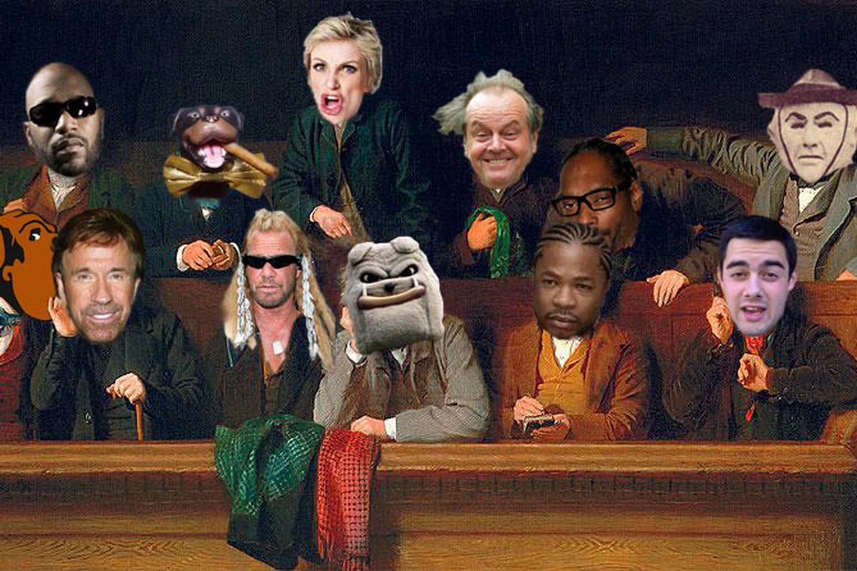 A jury of one's peers.