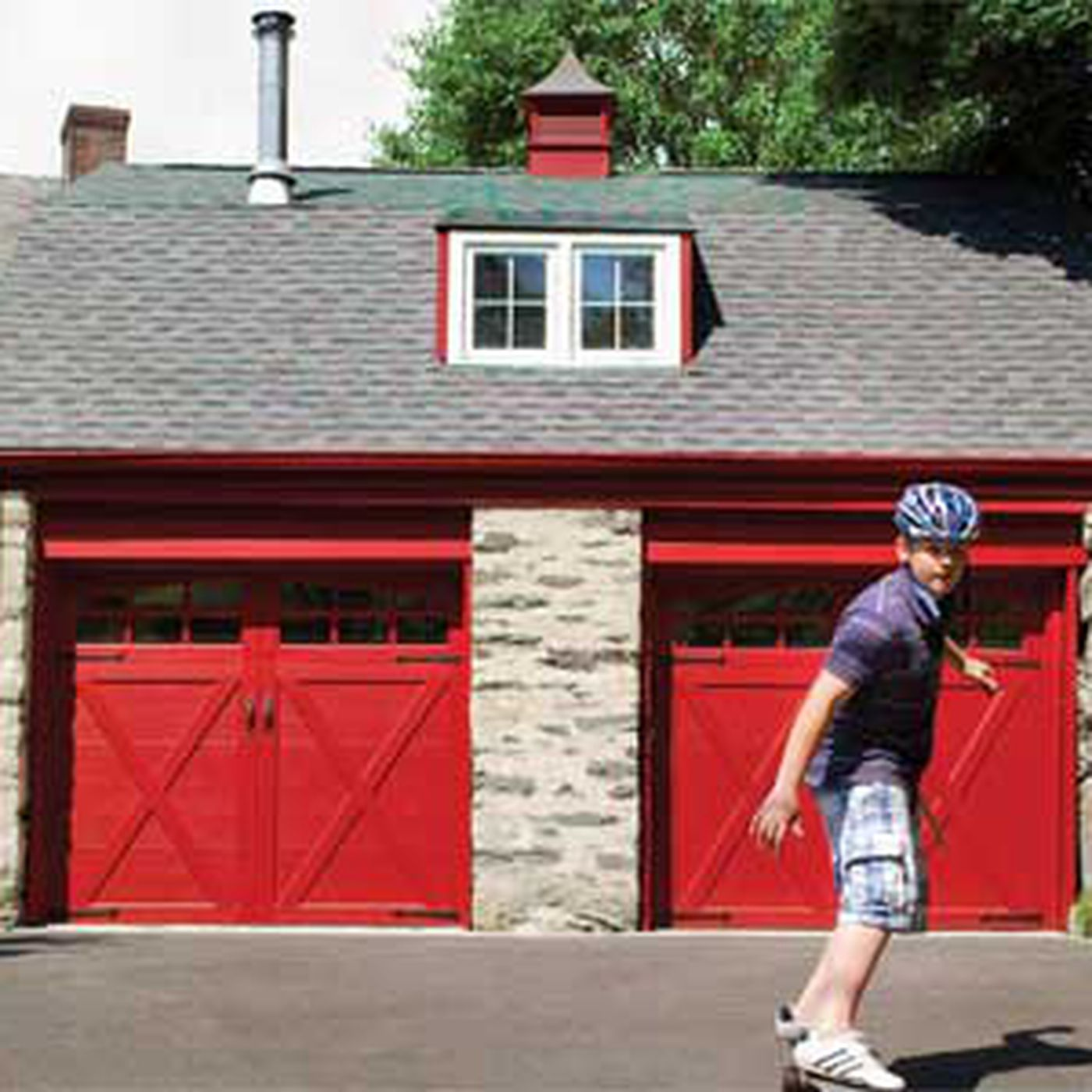 Adding Carriage Style Garage Doors This Old House