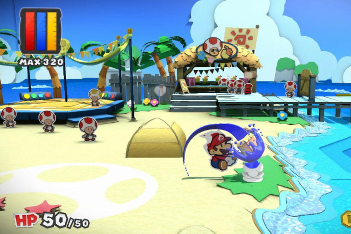 Paper Mario Color Splash Launch Date And Details Polygon