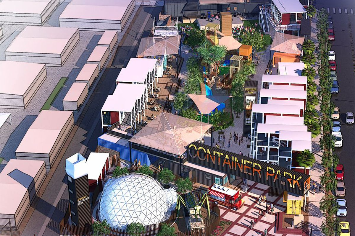 Storage Container Park Las Vegas