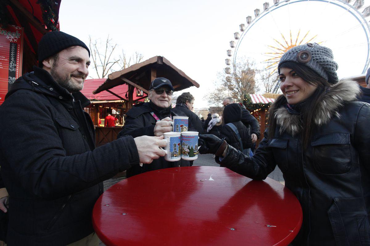 Berlin Christmas Markets Reopen Following Apparent Terror Attack