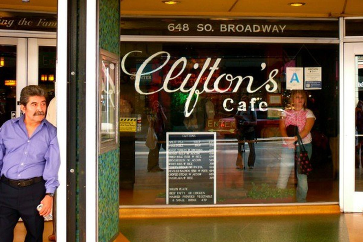 Clifton's Cafe, Downtown.
