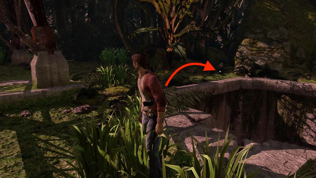 Uncharted: Drake's Fortune Chapter 20 collectible treasure locations