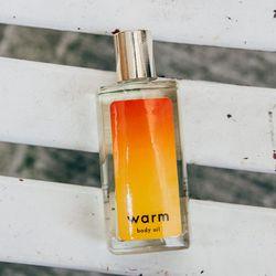Warm Body Oil, $50