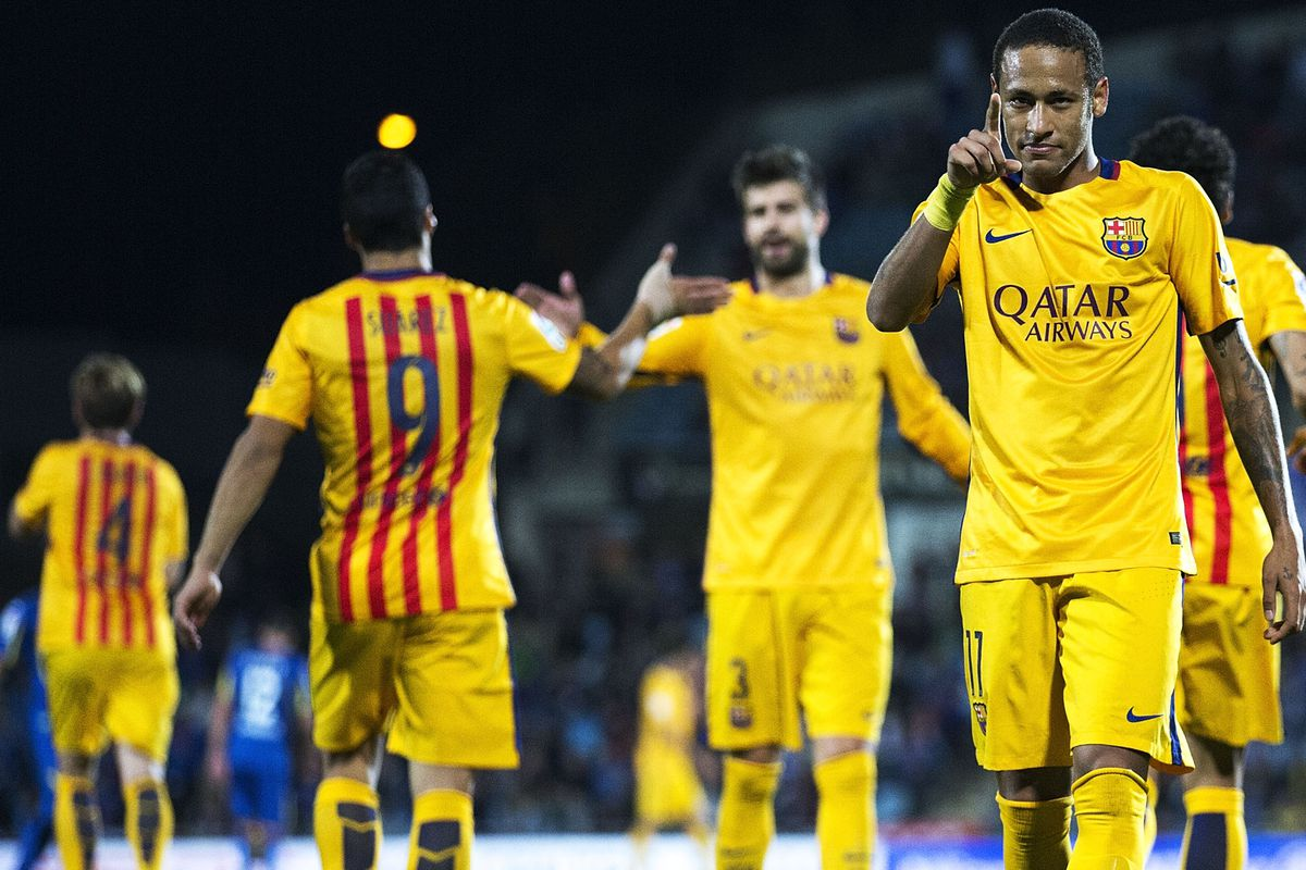 Neymar has been fire for Barcelona lately. Fade him at your own risk!