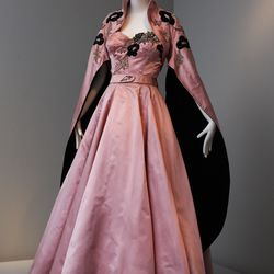 "Ava Gardner wore this Micol Fontana evening ensemble  in ""The Barefoot Contessa"""