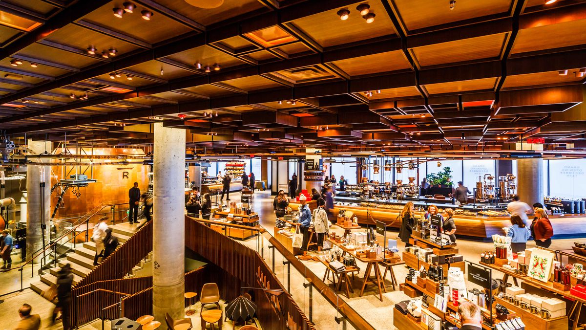 Starbucks Reserve Roastery Opens in Chelsea With 3 Stories - Eater NY