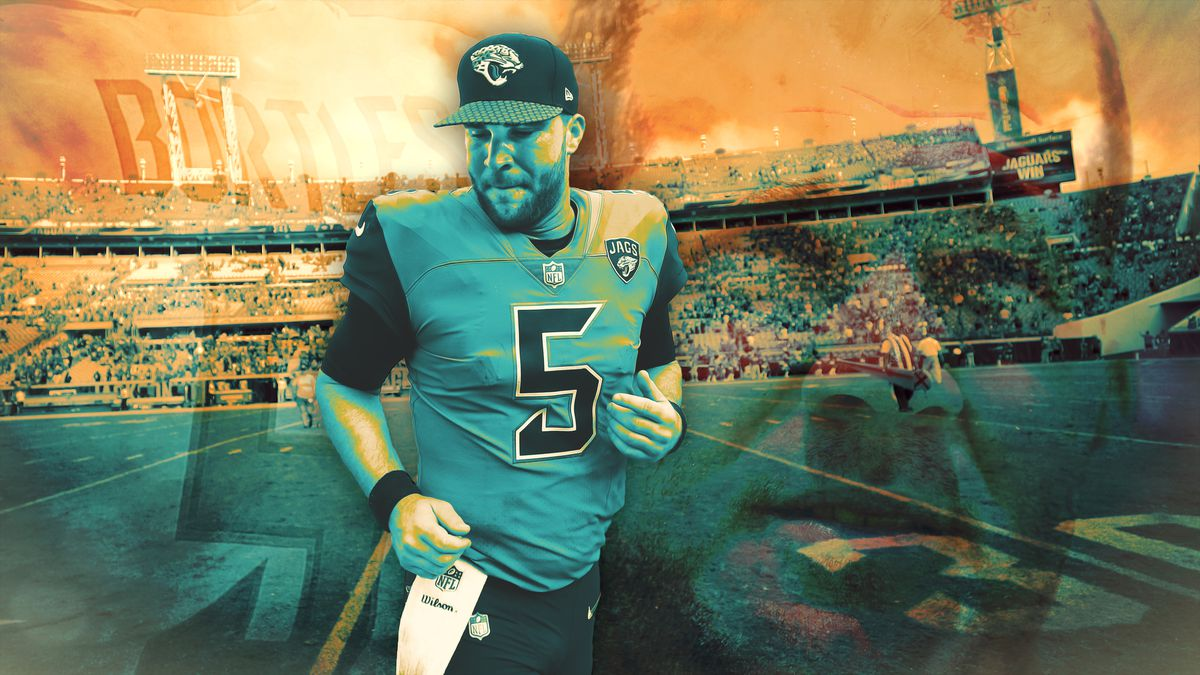 best sneakers 3dcbd b49e7 AFC Playoffs: Blake Bortles Doesn't Care About Your Blake ...
