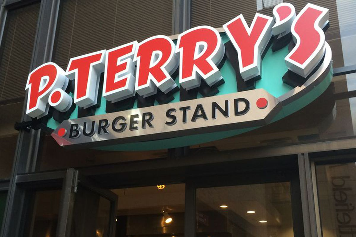 P. Terry's newest location in downtown Austin