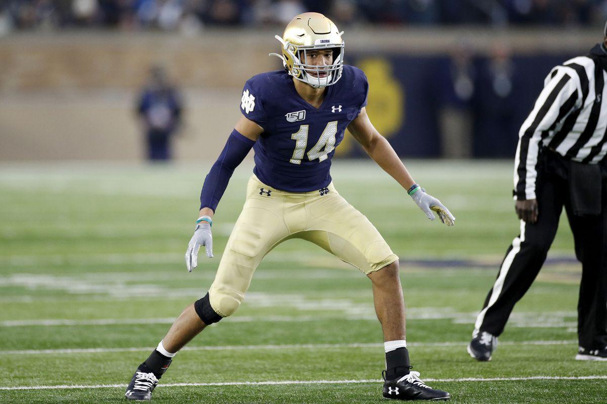 Notre Dame Football News: Kyle Hamilton is a freshman All ...