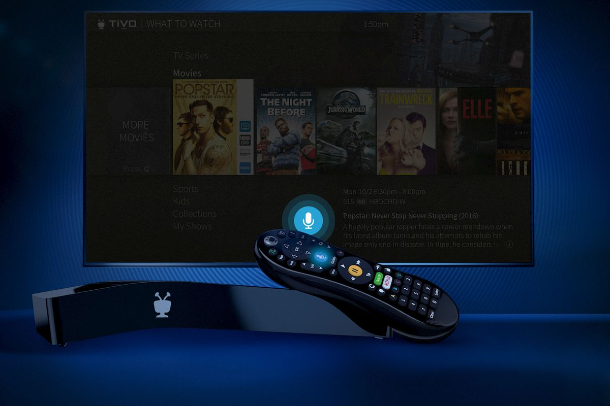 TiVo's new Bolt Vox DVR has voice search built into the