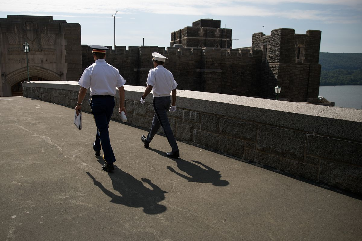 A New Class Of Cadets Reports To U.S. Military Academy At West Point