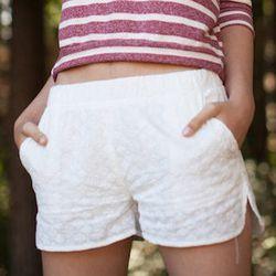 """<strong>Nameless</strong> Crochet Shorts, <a href=""""http://www.miramirasf.com/post/53852338536#disqus_thread"""">$67</a> at Mira Mira"""