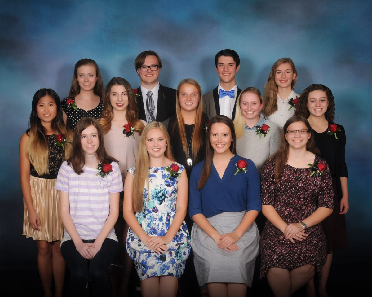 2017 Sterling Scholar candidates: Wasatch Front Region