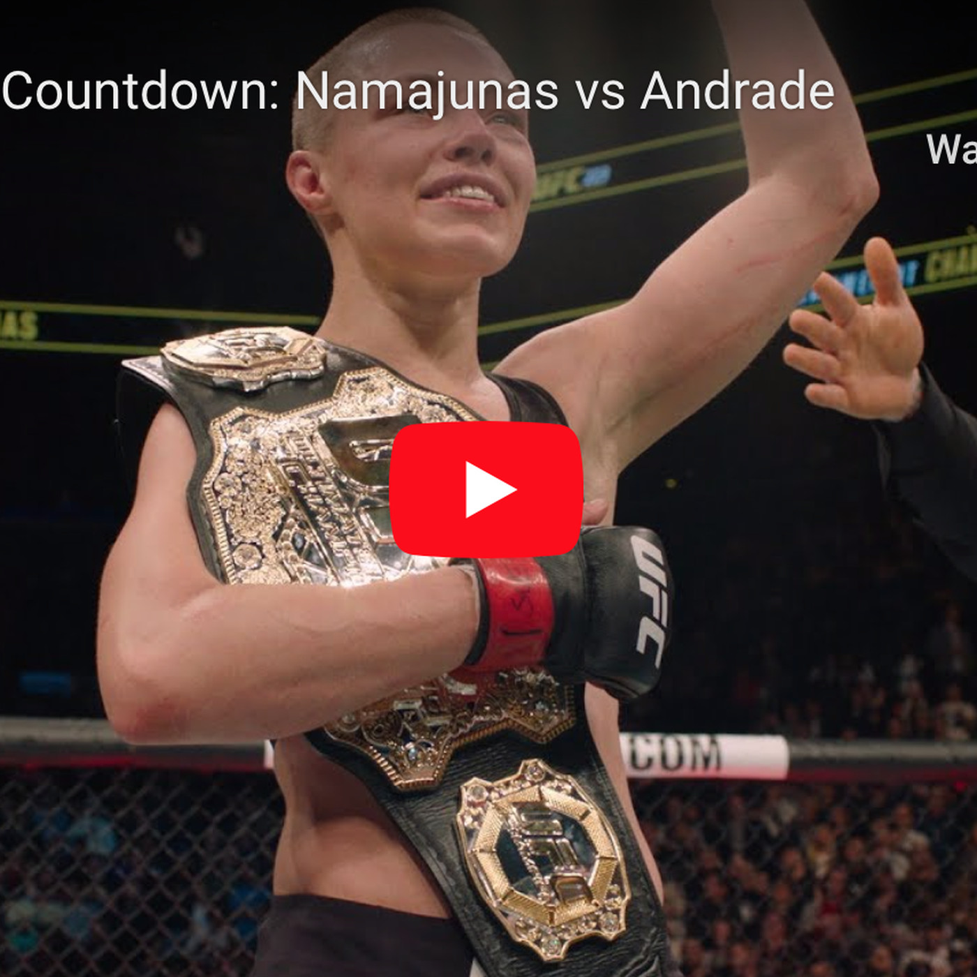 Image result for UFC: 237 Namajunas vs Andrade watch live now