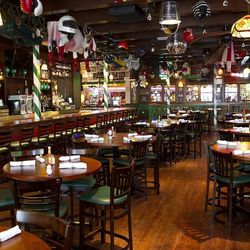 The bar at Carlos'n Charlie's.