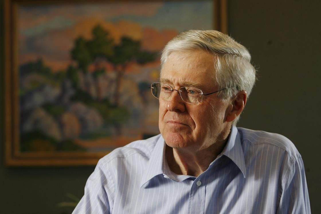 The GOP is feuding with the Kochs