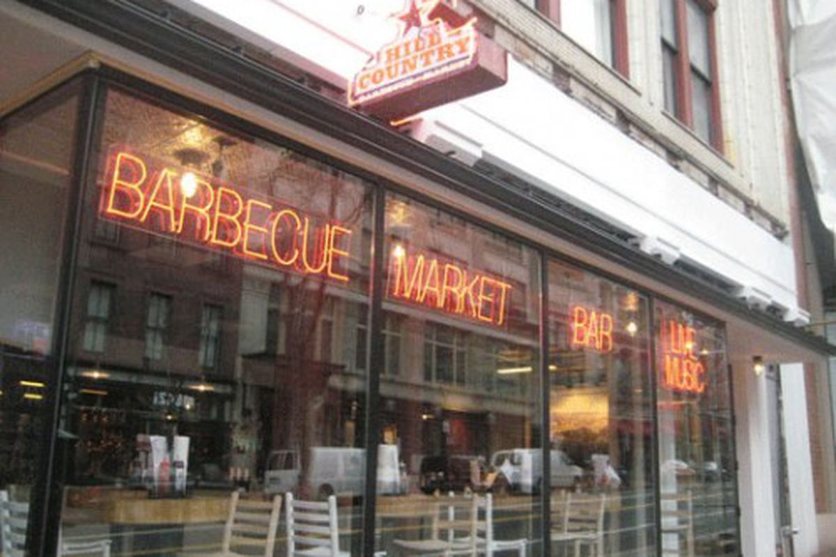 Hill Country brought its Texas-style BBQ to Penn Quarter on Saturday.