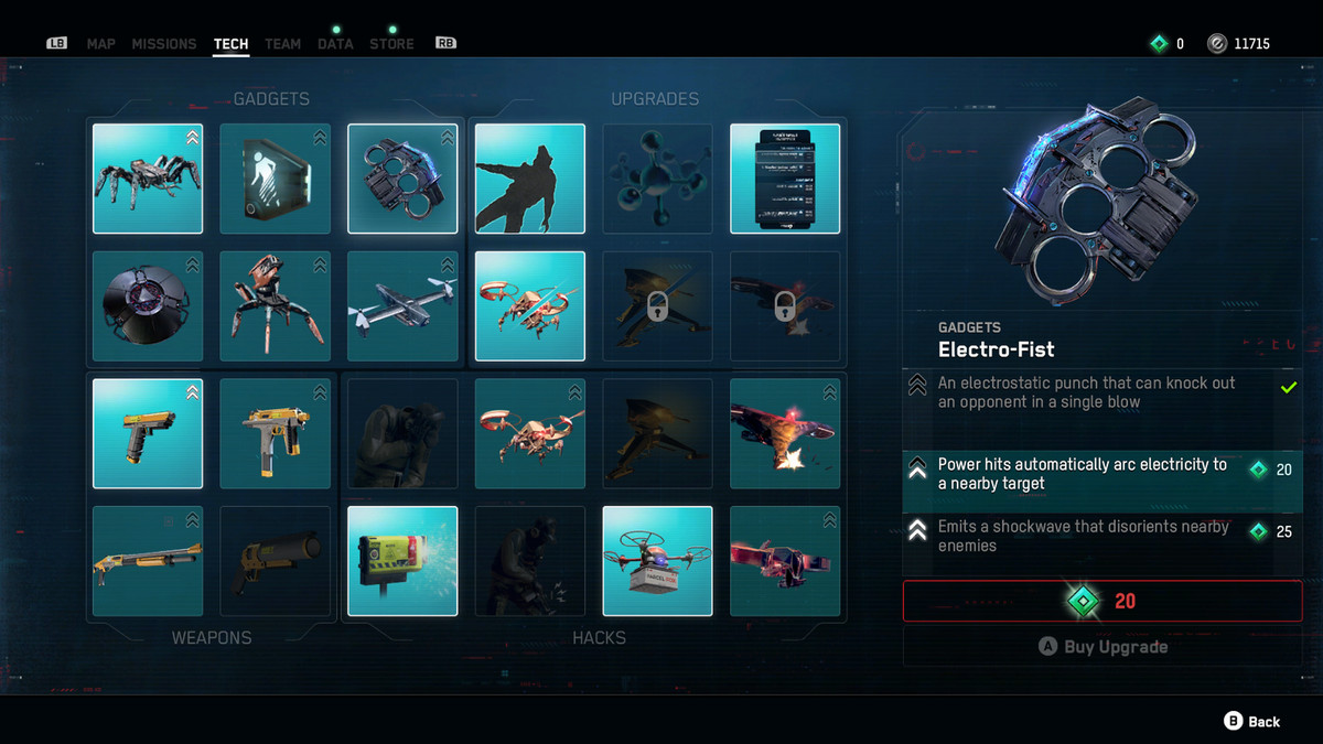 Electro-Fist gadget Watch Dogs: Legion
