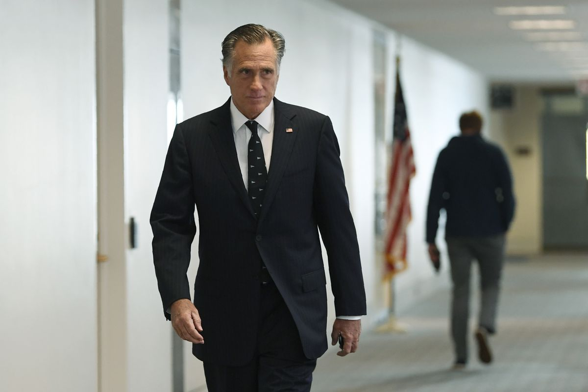 Impeachment Trial Romney Says Yes Senate No On New Witnesses