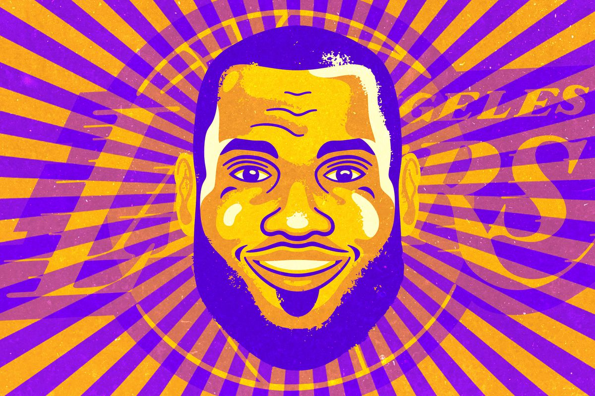 da498ca94fb The King Has Landed  Making Sense of LeBron James in Purple and Gold ...