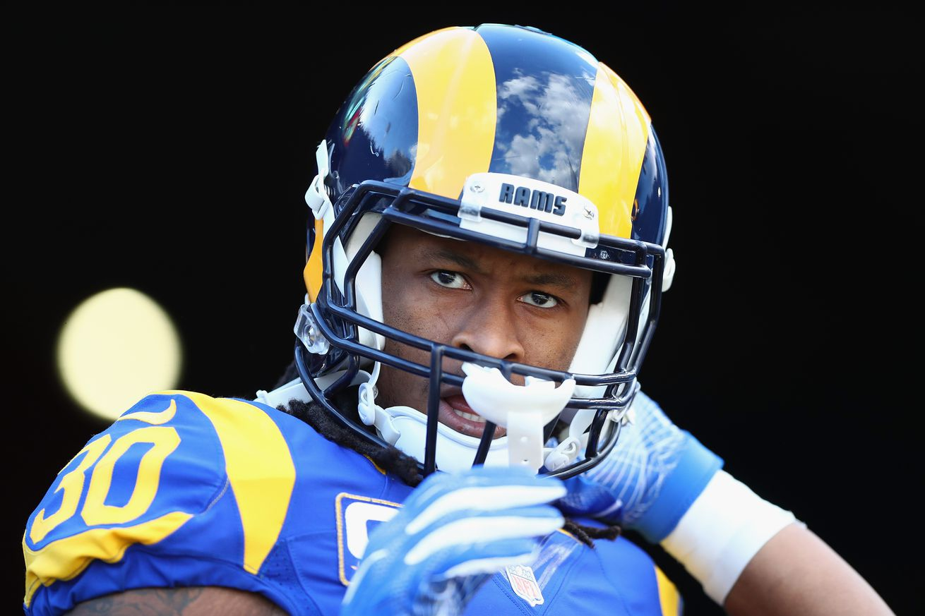 LA Rams RB Todd Gurley, Under Pressure Again As Revisionist Media Fails To Lay Fair Baseline