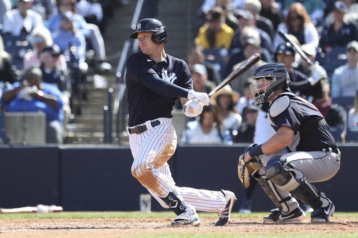 MLB: FEB 29 Spring Training - Tigers at Yankees (ss)