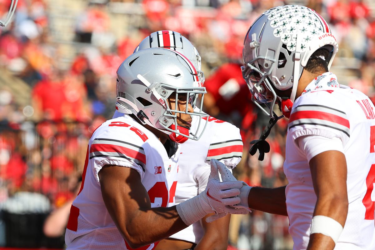 COLLEGE FOOTBALL: OCT 02 Ohio State at Rutgers