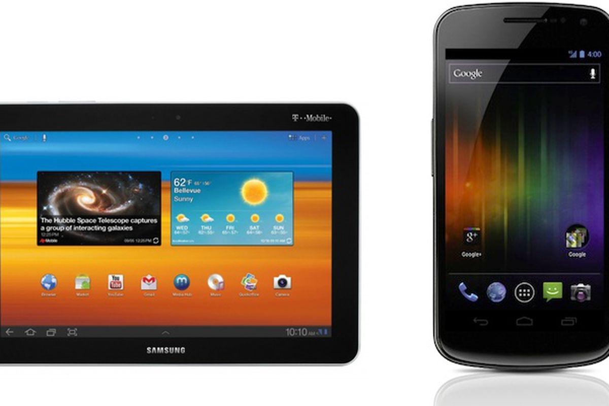 Galaxy Tab and Galaxy Nexus