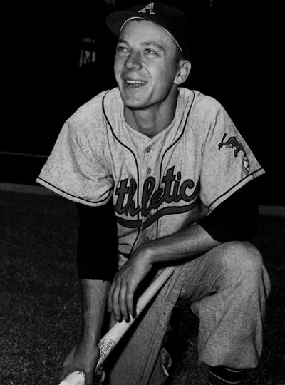 Joe DeMaestri of the Kansas City Athletics...