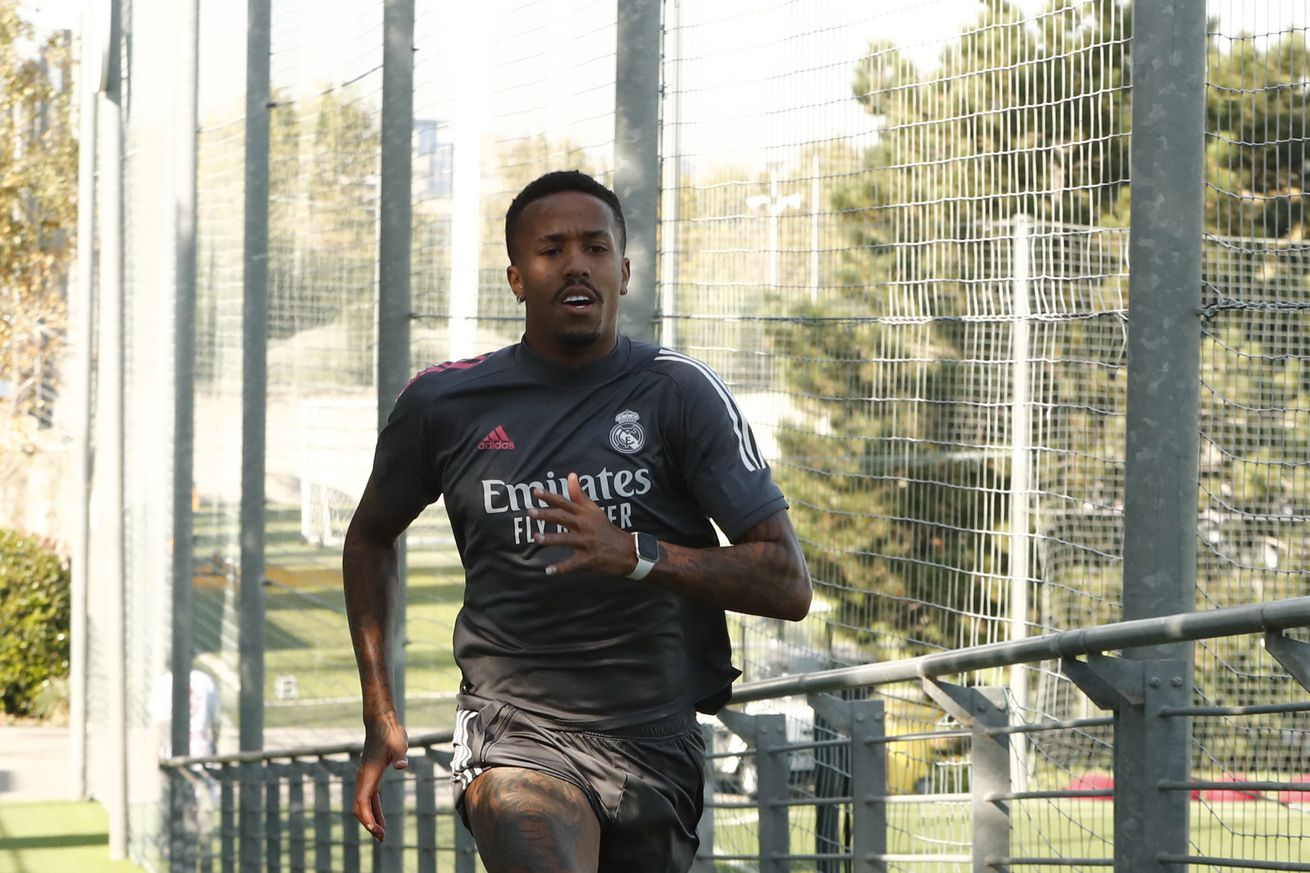 Militao tests negative for Covid-19, rejoins Real Madrid squad in training