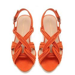 "<b>Loeffler Randall</b> Filippa Mignon flat sandal, $295 at <a href=""http://loefflerrandall.com/LRProduct.aspx?ProductID=465&CategoryID=119"">Loeffler Randall</a>."