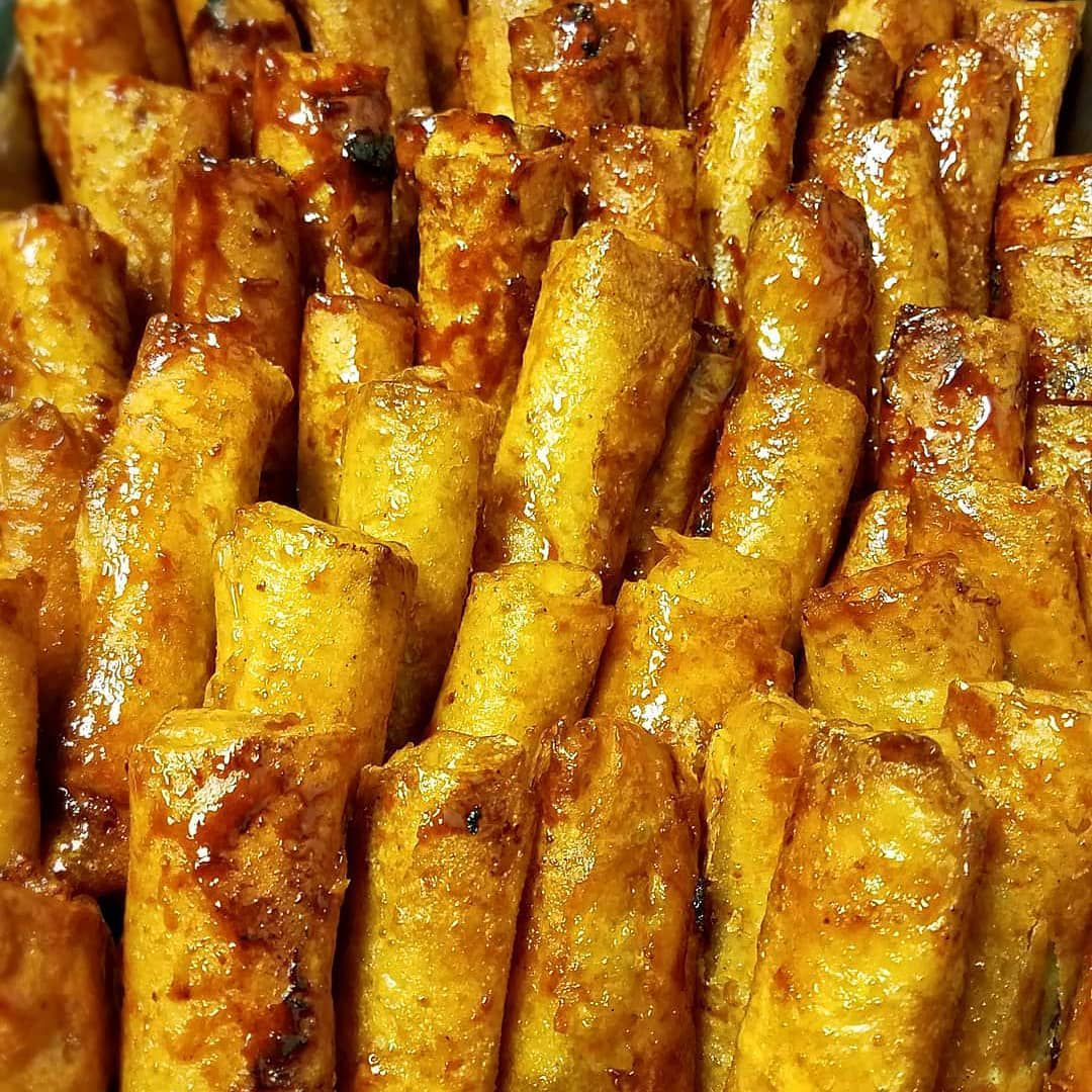 Filipino turon and more from Chaaste Family Market in Pasadena.