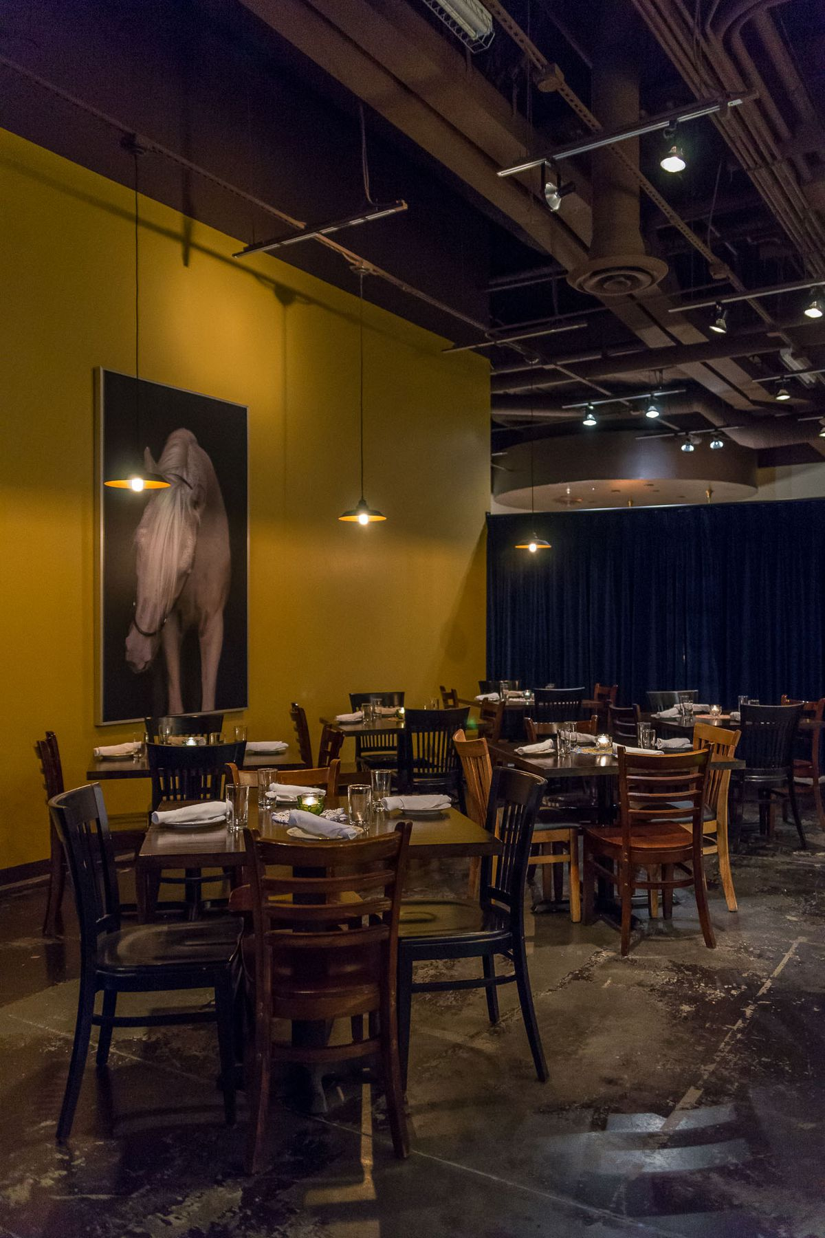 The main dining room at Old Soul