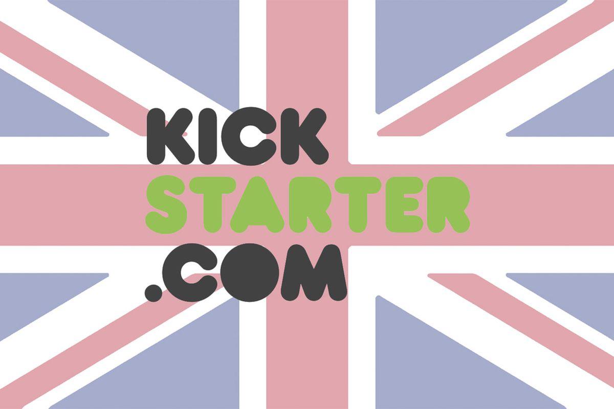 Kickstarter UK mockup